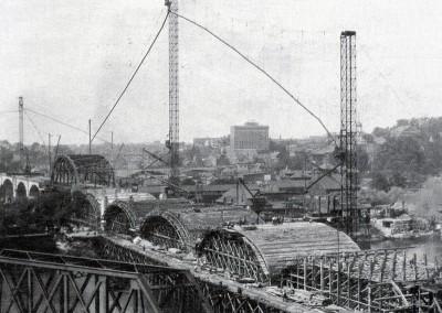 Hill to Hill  Bridge Construction