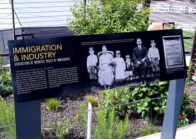 HMT Signage – Immigration