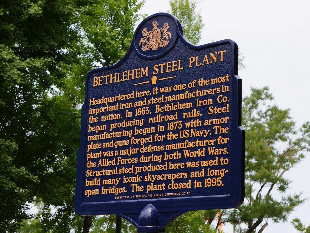 Bethlehem Steel Plant