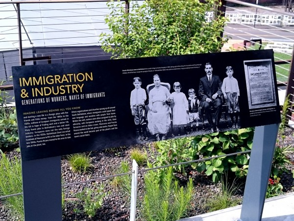 HMT Signage – Immigration