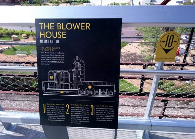 HMT Signage – The Blower House