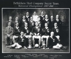 Union soccer team honors Bethlehem history
