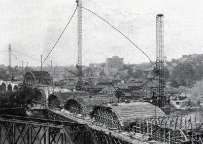 Hill to Hill  Bridge Construction