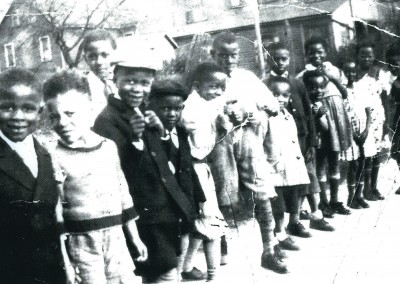 The Smith boys and friends Northampton Heights 1938